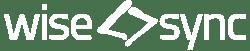 wise-sync logo white-1